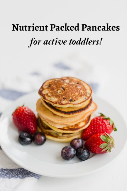 Nutrient-Packed Pancakes for Active Toddlers