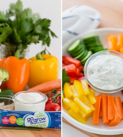A Healthier Ranch Dip Your Kids Will Love!