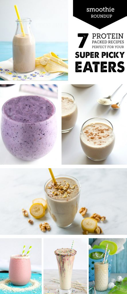 Smoothie recipes for getting protein to your pickiest eaters!