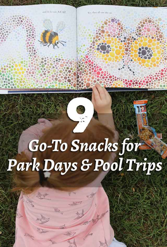 Best on-the-go snacks for kids