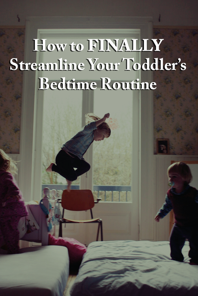 Parent Hack: How to streamline your toddler's bedtime routine - Great info. here that I hadn't thought about!!