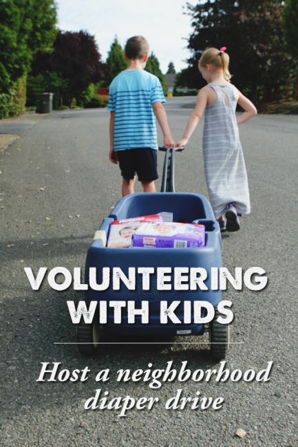 A Perfect Way to Volunteer with Young Kids (And Help New Moms in Need!)