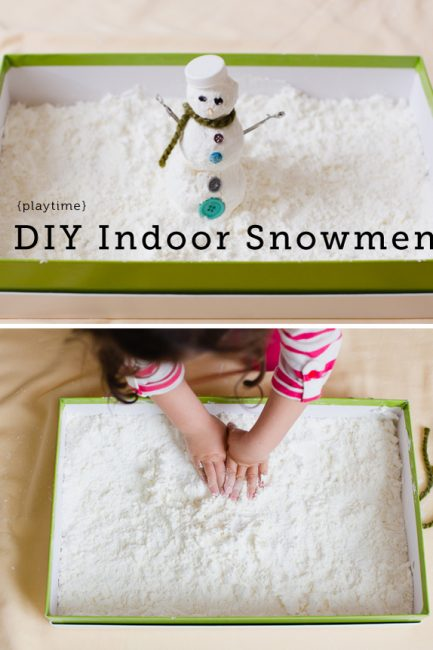 Making Snowmen… Inside!