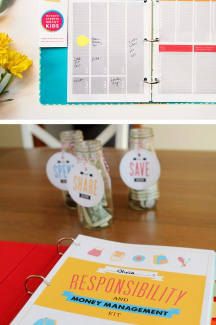 POYEL 2017 Planner Printables & Kids' Responsibility and Money Management Packets on big sale!