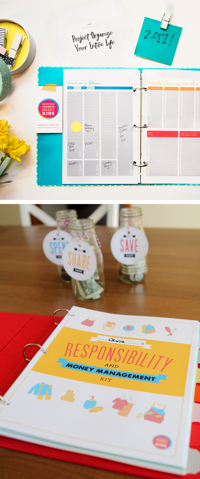 brand new organizational printables for 2017 plus pick your sale