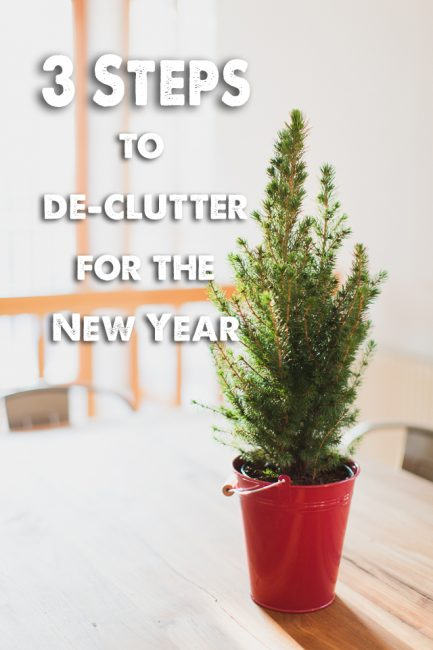 3 Easy ways to Declutter After the Holidays