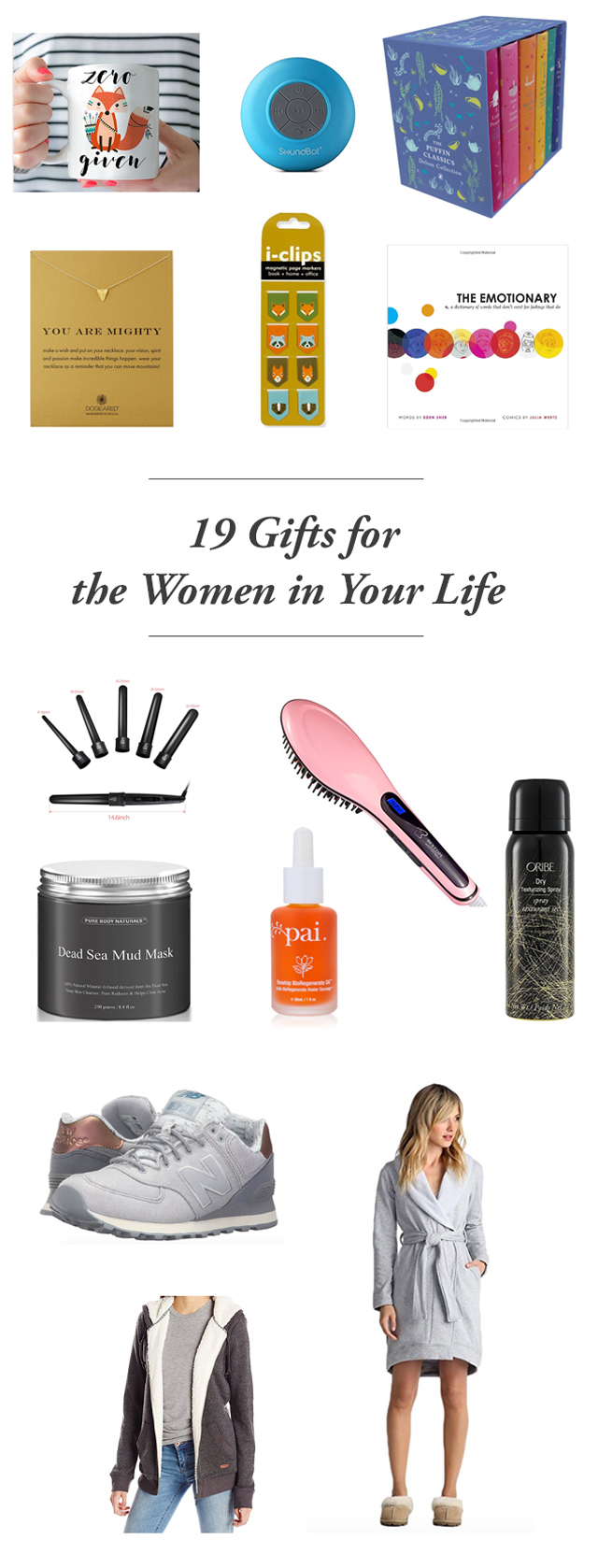 19 Gifts for the women in your life - the best gifts for your mom, best gifts for your friends, and best gifts for your sister. Such a good list!