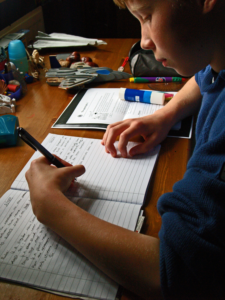 Setting Up Successful Homework Routines for Your Kids - great tips from a professional organizer