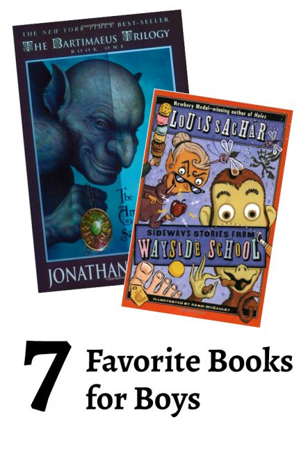 7 of my favorite books for boys - all so great!