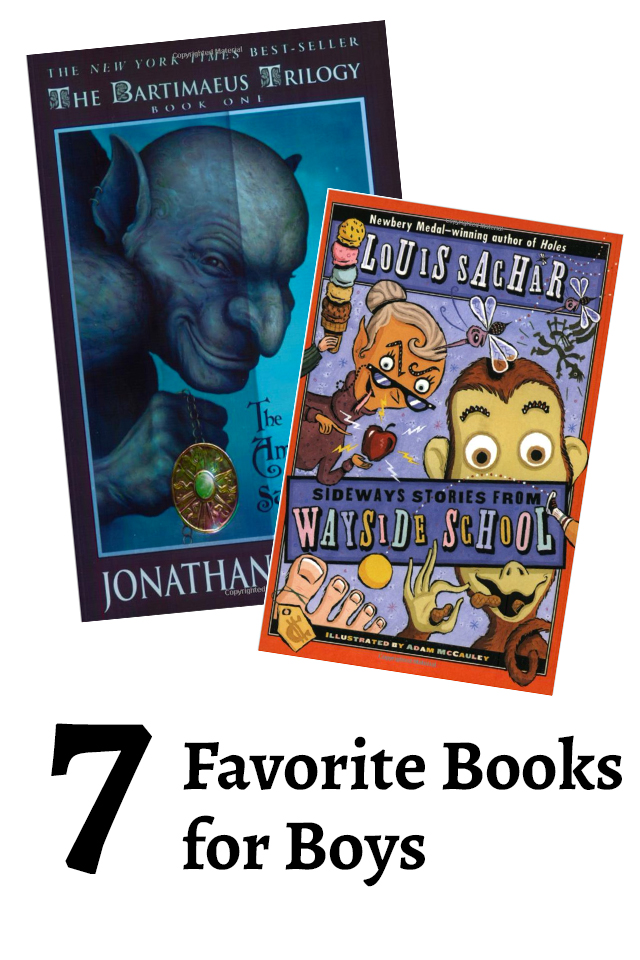 7 Best Chapter Books For Boys Modern Parents Messy Kids