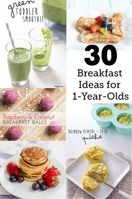 30 Breakfast Ideas for a 1-year-old