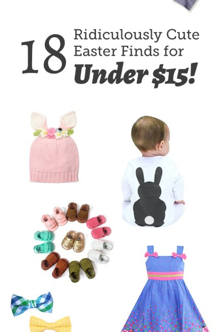 Hot Find: 18 Ridiculously Cute Easter Pieces for Under $15!