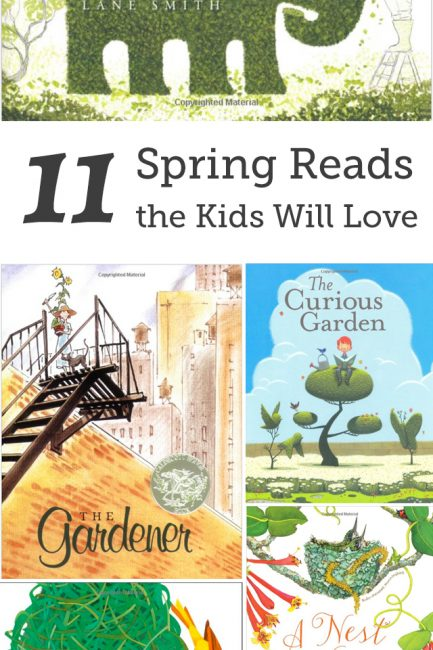 11 Books about Spring that kids love. Such gorgeous picks!