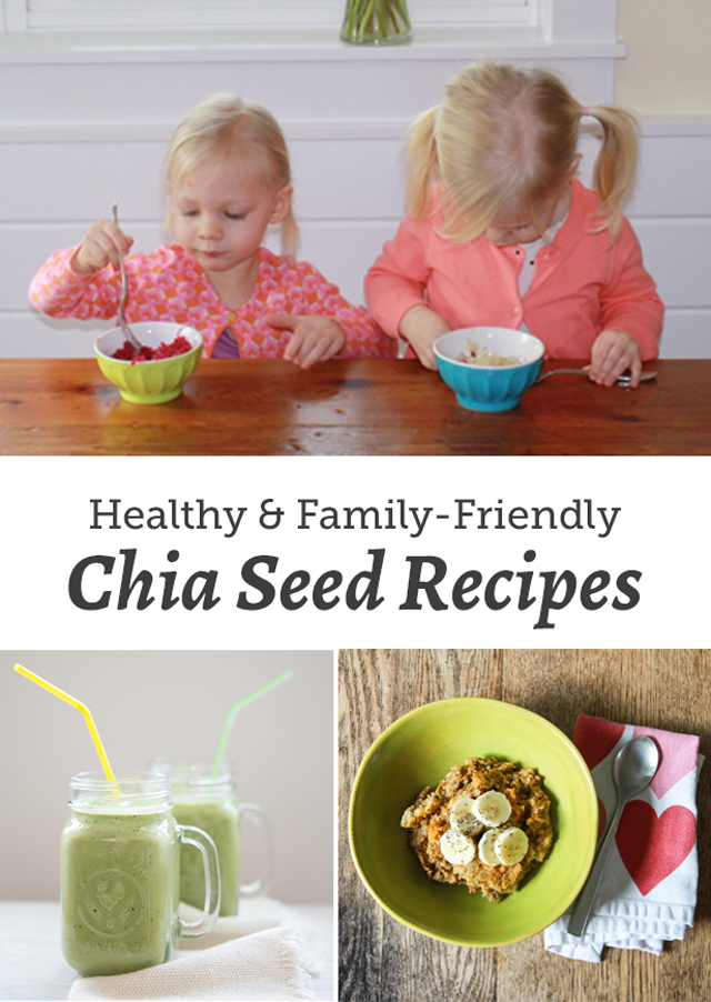 A round up for healthy chia seed recipes that are kid-friendly and delicious.