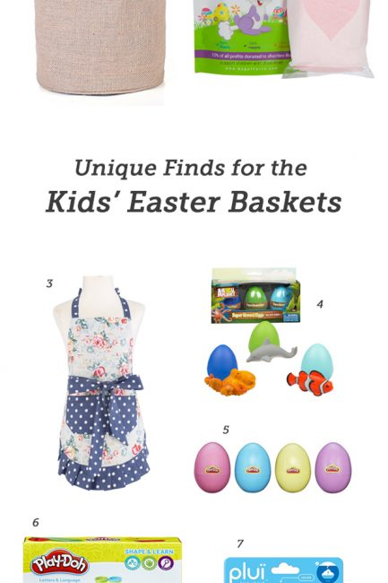 Easter Basket Finds that are Sure to Delight Your Kids