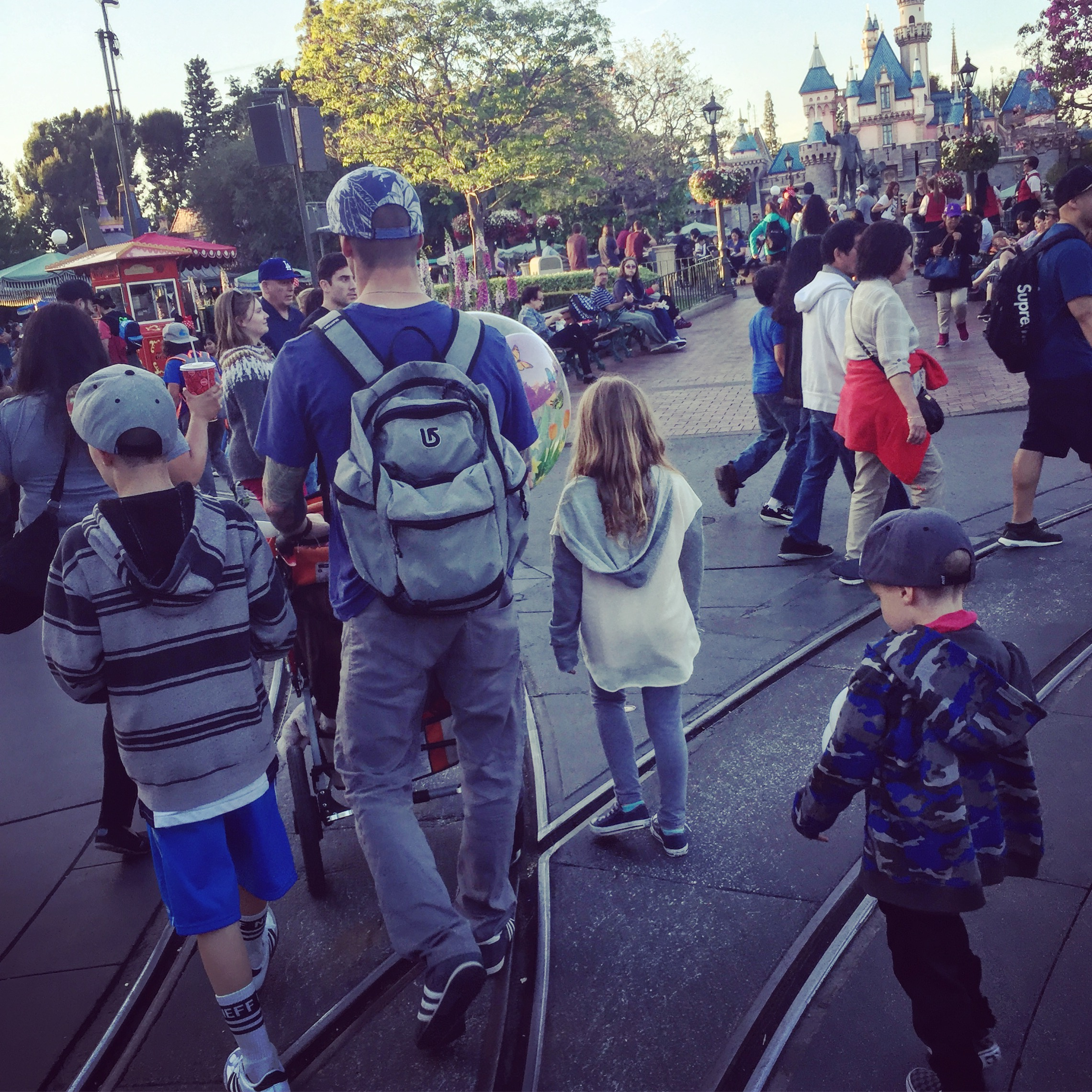 Parenting Styles: Taking a 2-year-old on a 9 Hour Road Trip to Disneyland.