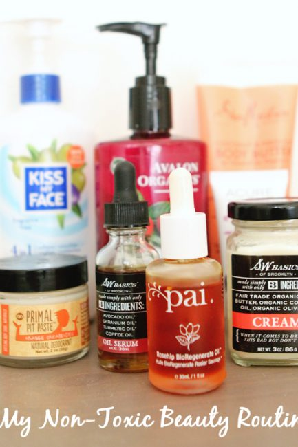My Tried & True Non-Toxic Beauty Routine