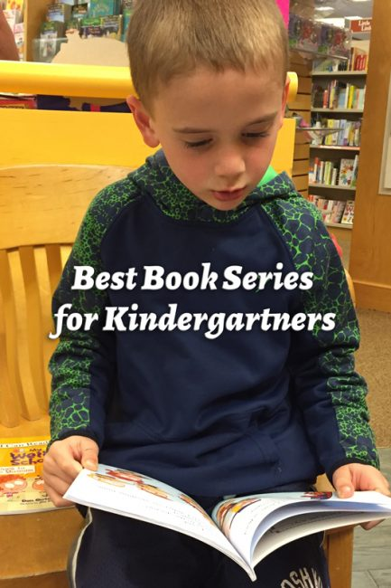 Best book series for kindergartner summer reading!