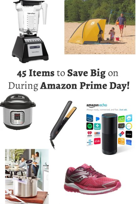 UPDATED: 45 Items to Save Big on During Amazon Prime Day!
