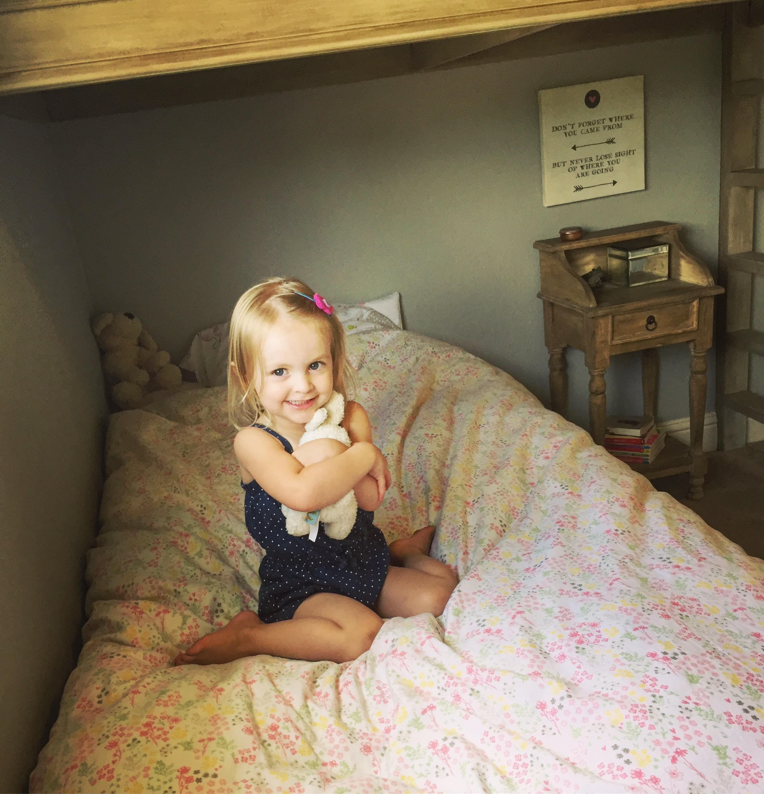 Moving toddlers from the crib to a big kid bed - it's always an adventure!