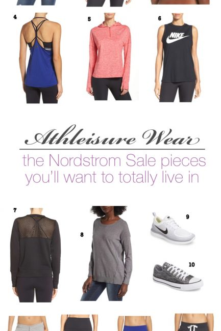 #NSale: Workout Wear (aka The Pieces I Plan to Live In)