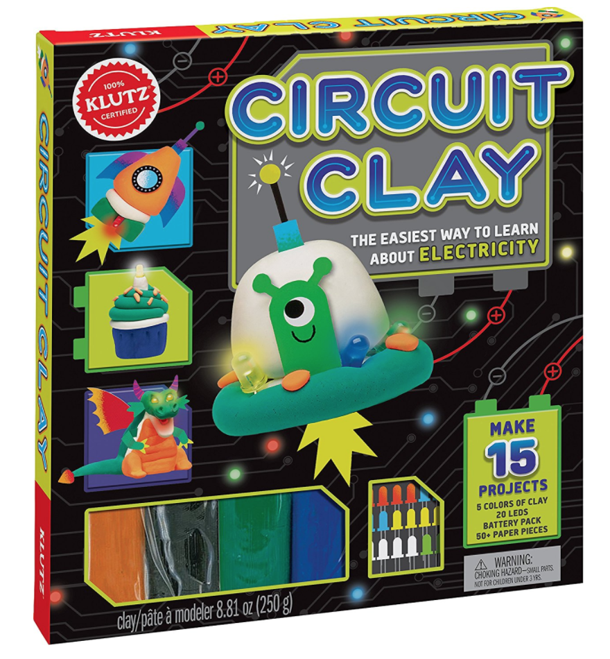 Mpmk Gift Guide Top Toys For Building Stem Skills Modern Parents The Above Diagram Shows How To Build Circuit From Snap Circuits A Few Years Ago Tutorials Making Your Own Electric Play Dough Were Popping Up All Over Pinterest I Would Excitedly Click On Them With Intention Of
