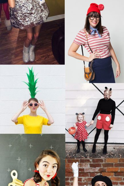 11 Brilliantly Simple DIY Halloween Costumes for Moms