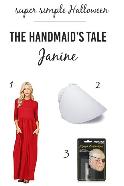 Most Impressive/Easy/Comfy Halloween Costume Ever – Janine from The Handmaid's Tale