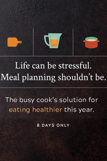 New Year's Resolution: Better Meal Planning – Finally