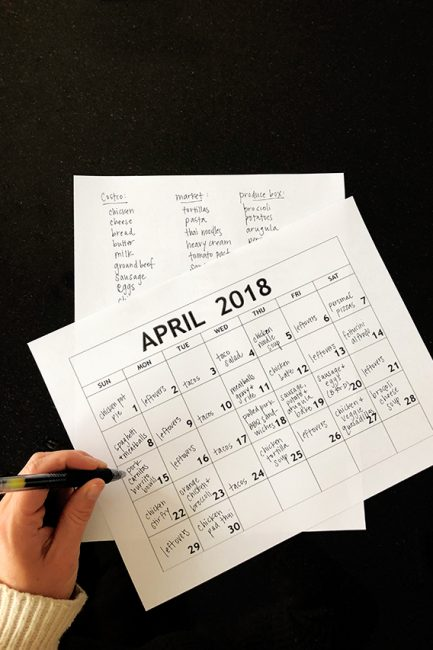 10 Hacks for Better Monthly Meal Planning