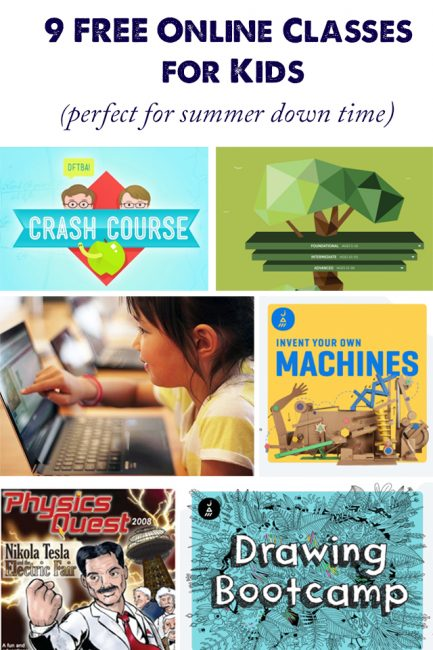 Online Summer Classes for Kids that are Perfect for Down Time