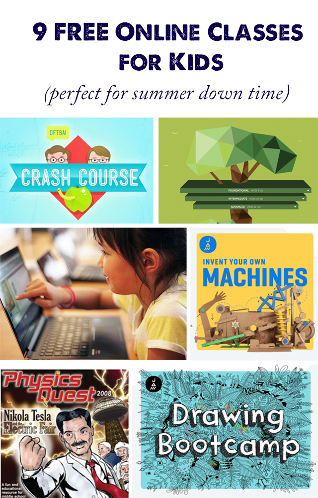 Online Summer Classes for Kids that are Perfect for Down Time ...