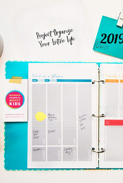 How to Finally Organize Your ENTIRE Life