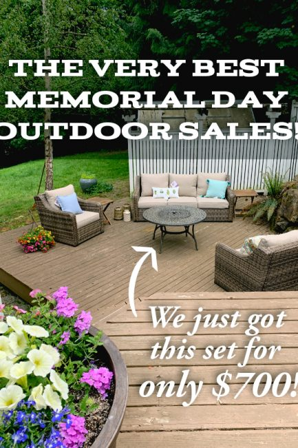 The Best Memorial Day Sales to Take Your Patio to the Next Level