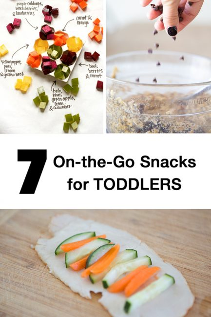on the go toddler snacks