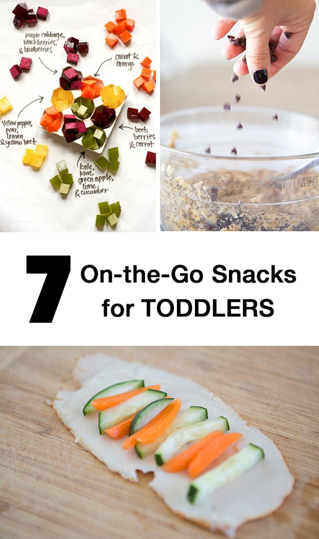 on the go toddler snacks