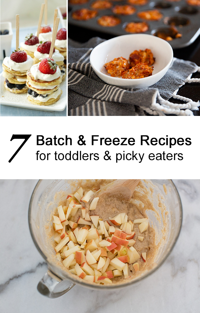 batch and freeze toddler reipce